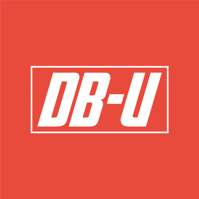Brand identity and logo design for DB-U