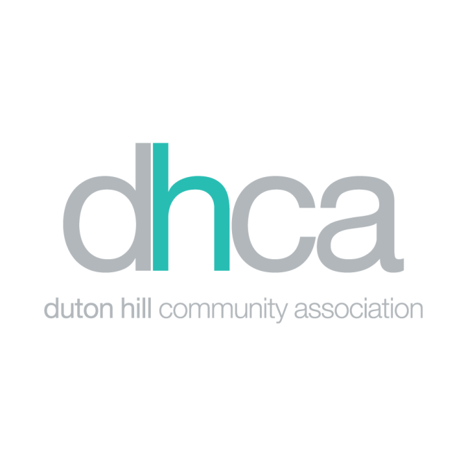 Graphic design for Duton Hill's Community Association