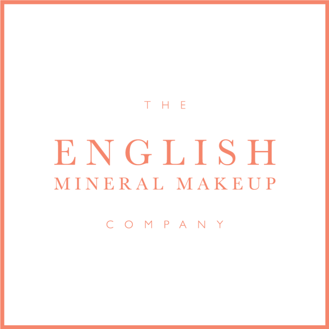 Brand identity for English Mineral Makeup