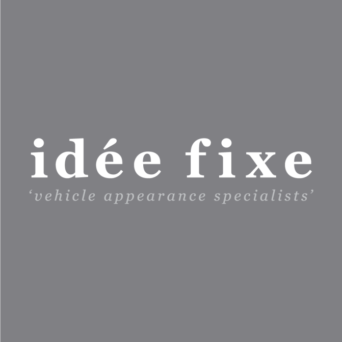 Idee Fixe detailing logo design and brand development