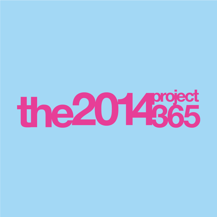 Logo design for the 2014 project 365 photography blog
