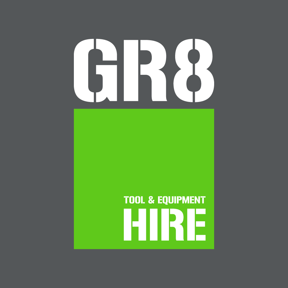 GR8 Tool Hire Logo Design