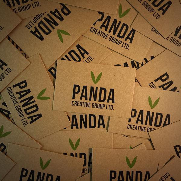 Panda Creative Kraft Business Card