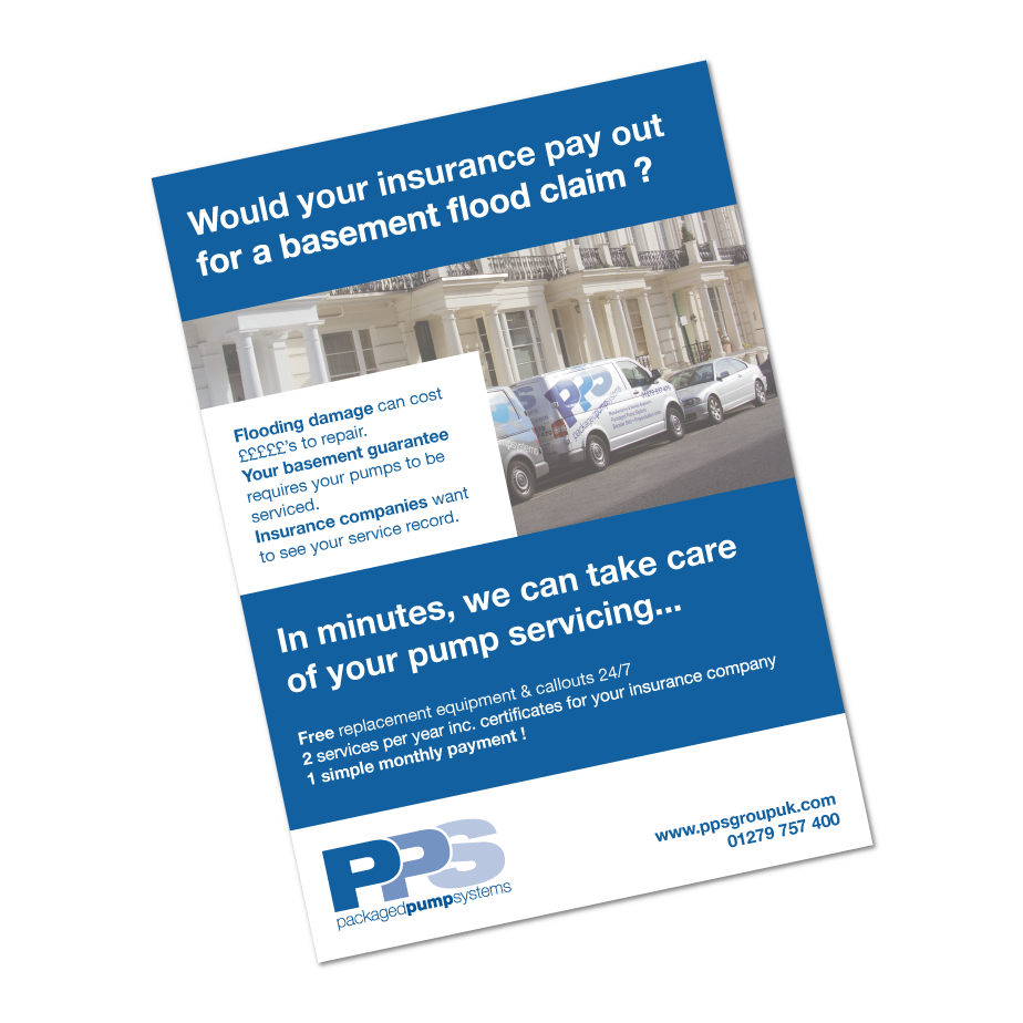 Packaged Pump Systems Direct Debit Flyer