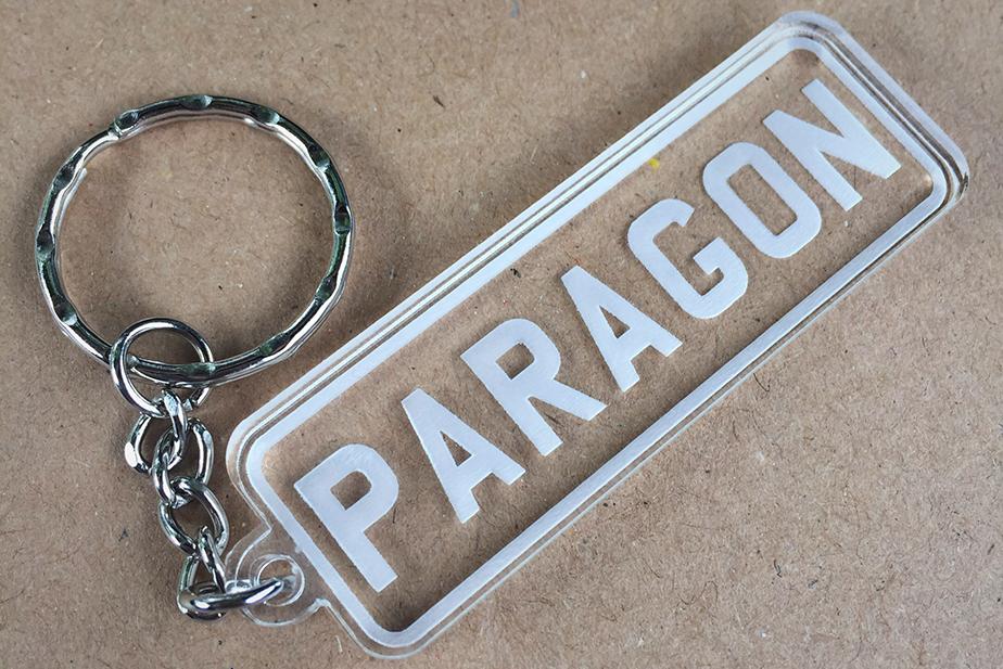 Paragon Plates Keyring