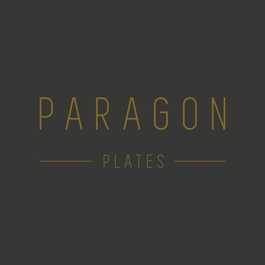 Paragon Plates Logo Design