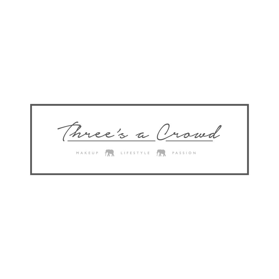 Three's a Crowd Blog Logo Design