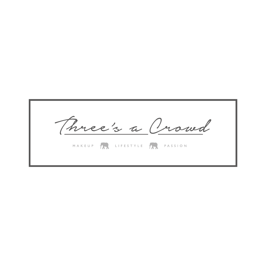 Three's a Crowd Blog Logo Design
