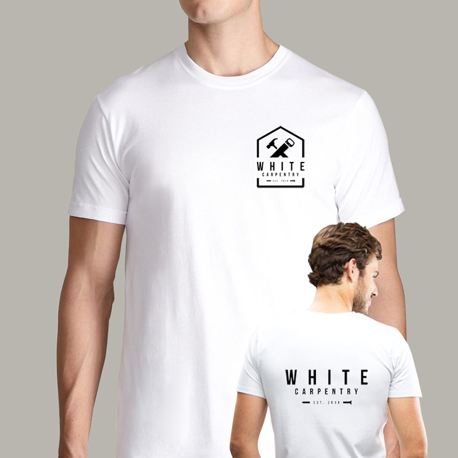 white-carpentry-tee-design